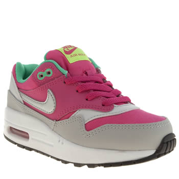 Nike Pink Air Max 1 Girls Junior