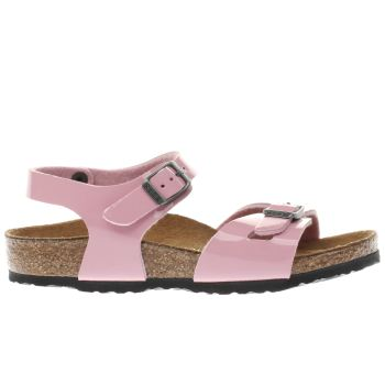 Birkenstock Pale Pink Rio Girls Junior