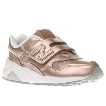 New Balance Rose Gold 580 Girls Junior