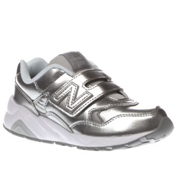 New Balance Silver 580 Girls Junior