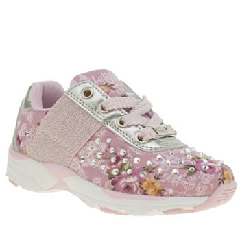 Lelli Kelly Pink Primula 2 Girls Junior