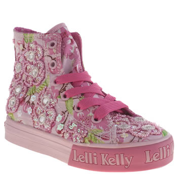 Girls Lelli Kelly Pink Fiori Di Pesco Mid Girls Junior