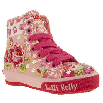 Lelli Kelly Pink Jasmine Girls Junior