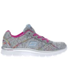 Skechers Grey Skech Appeal Electric Girls Junior