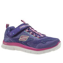 Skechers Purple Skech Appeal Hi Shine Girls Junior