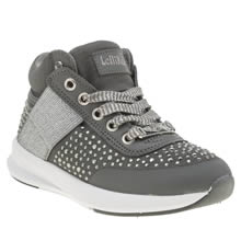 Lelli Kelly Dark Grey Strass Girls Junior