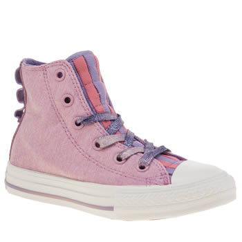 Converse Pink All Star Energy Loopholes Girls Junior