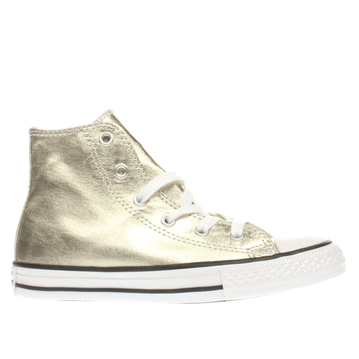 converse gold all star hi metallic Girls Junior Trainers