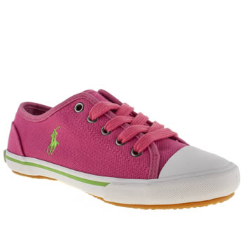Polo Ralph Lauren Pink Polo Babson Girls Junior