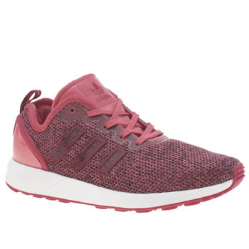 Adidas Pink Zx Flux Adv Girls Junior