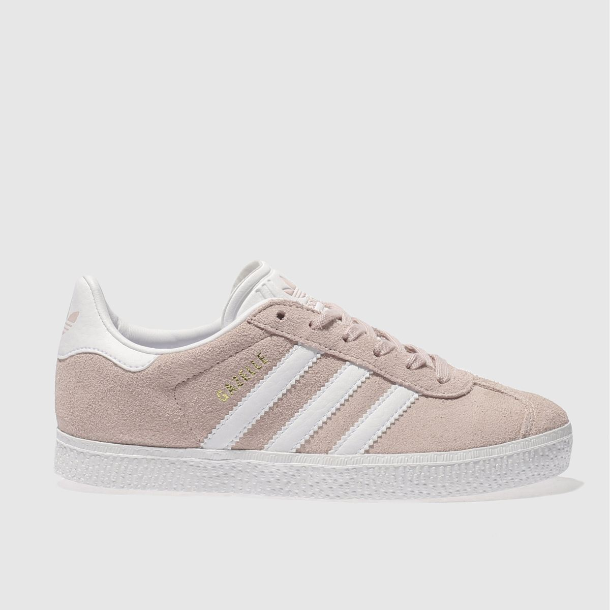 adidas pale pink gazelle Girls Junior Trainers