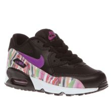 Nike Multi Air Max 90 Print Mesh Girls Junior