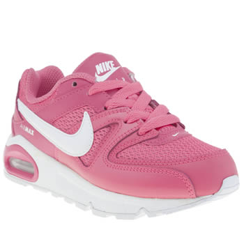 Girls Nike Pink Air Max Command Girls Junior