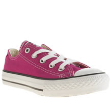 Junior Pink Converse All Star