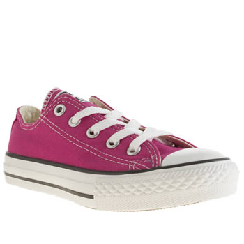 Converse Pink All Star Girls Junior