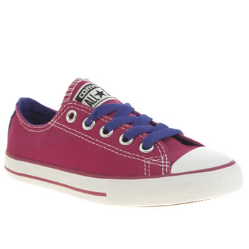 Converse Pink All Star East Coaster Girls Junior