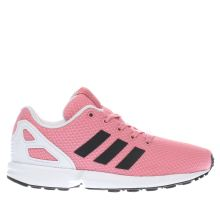 Adidas Pink & Black Zx Flux Girls Junior