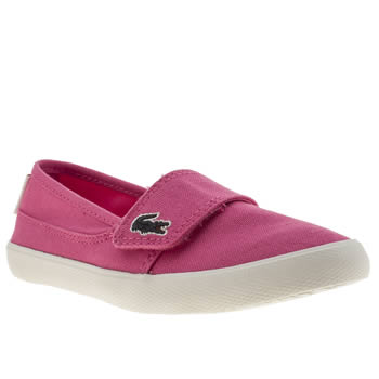 Girls Lacoste Pink Marice Girls Junior