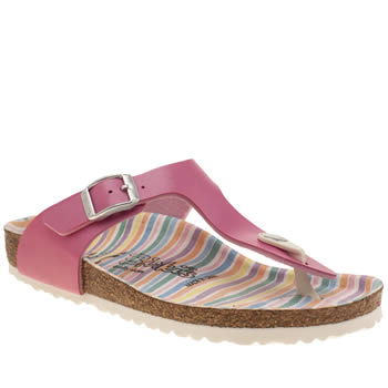 Birkenstock Pink Gizeh Girls Junior