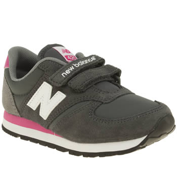 New Balance Grey 420 Girls Junior