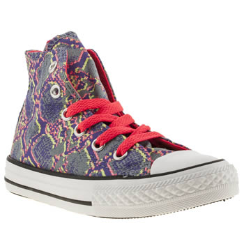 Converse Multi All Star Animal Hi Girls Junior