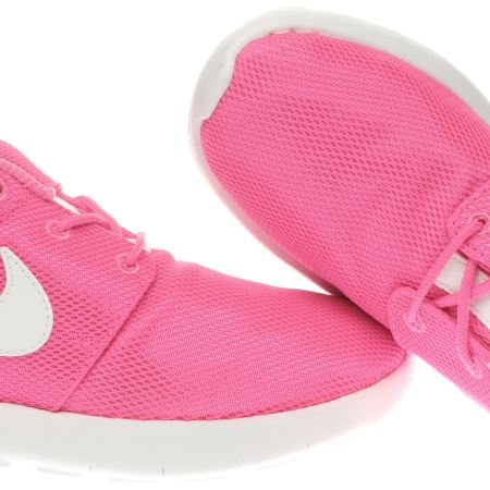 idmeh Girls Pink Nike Roshe One Junior Trainers | schuh