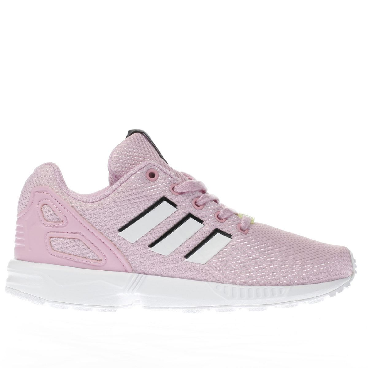 adidas pale pink zx flux Girls Junior Trainers