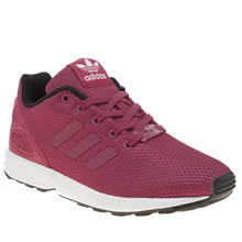 Adidas Pink Zx Flux Girls Junior