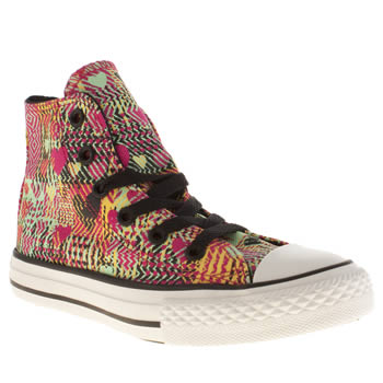 Converse Multi Chuck Taylor All Star Leopard Girls Junior