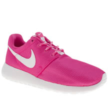Youth Pink Nike Roshe Run