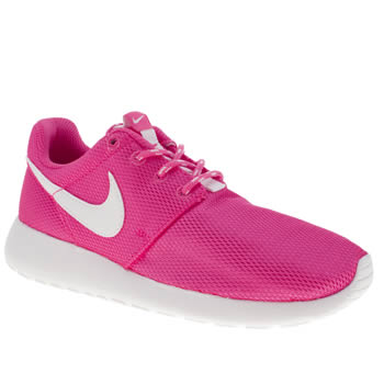 Girls Nike Pink Roshe Run Girls Youth
