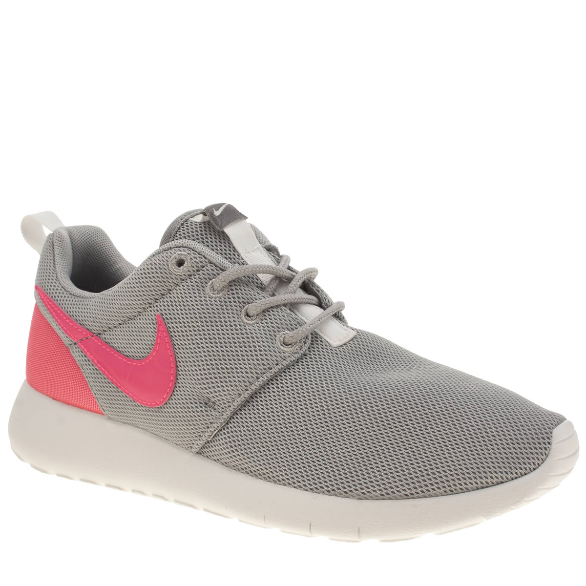 yklxq Girls Grey Nike Roshe One Youth Trainers | schuh
