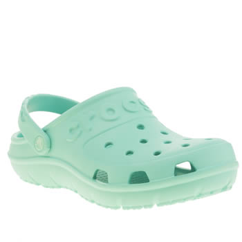 Crocs Turquoise Hilo Clog K Girls Youth
