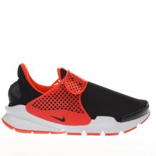 Nike Black & pink Sock Dart Girls Youth