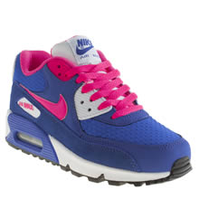 Youth Blue Nike Air Max 90 2007