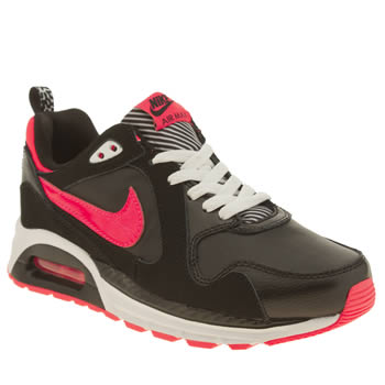 Girls Nike Black & pink Air Max Trax Girls Youth