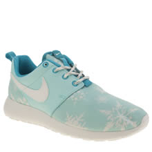 Nike Turquoise Roshe One Print Girls Youth