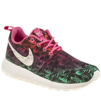 Nike Multi Roshe Run Print Girls Youth