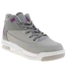 Nike Jordan Grey Flight Origin 3 Girls Youth