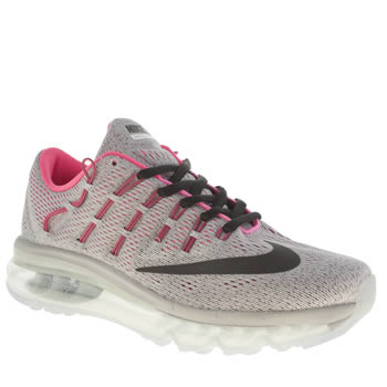 Nike Grey & Black Air Max 2016 Girls Youth