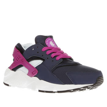 Nike Navy Huarache Run Girls Youth