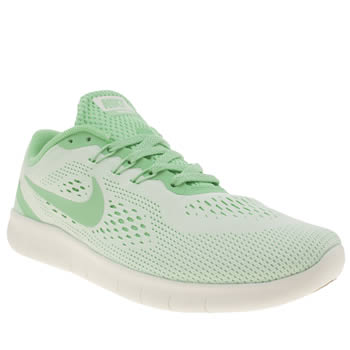 Nike Turquoise Free Rn Girls Youth