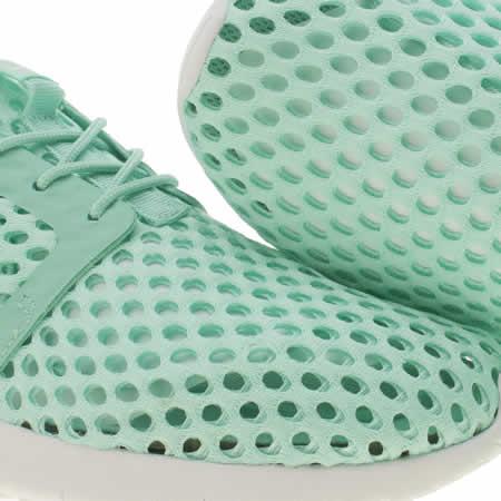 xwxgu Girls Turquoise Nike Roshe One Flight Weight Junior Trainers   schuh