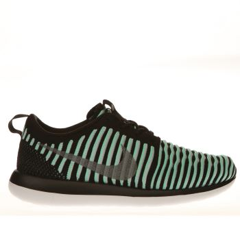 Nike Green Roshe Two Flyknit Girls Youth