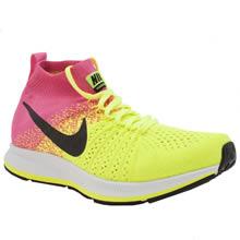 Nike Yellow Zoom Pegasus Flyknit Girls Youth