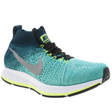 Nike Turquoise Zoom Pegasus Flyknit Girls Youth