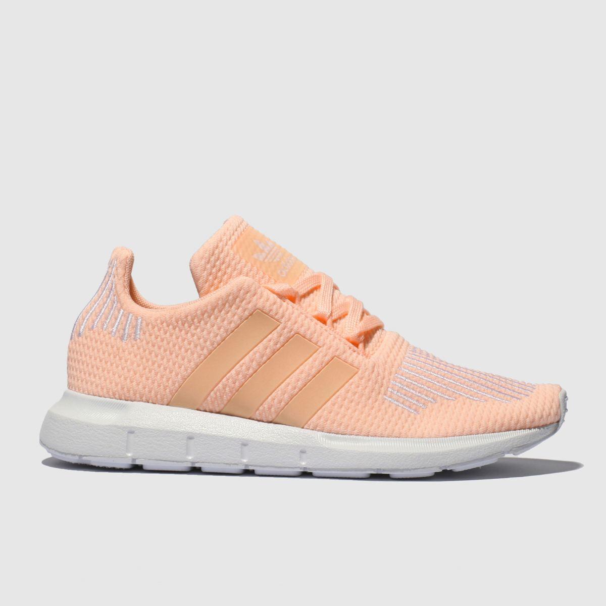 Adidas Peach Swift Run Trainers Youth