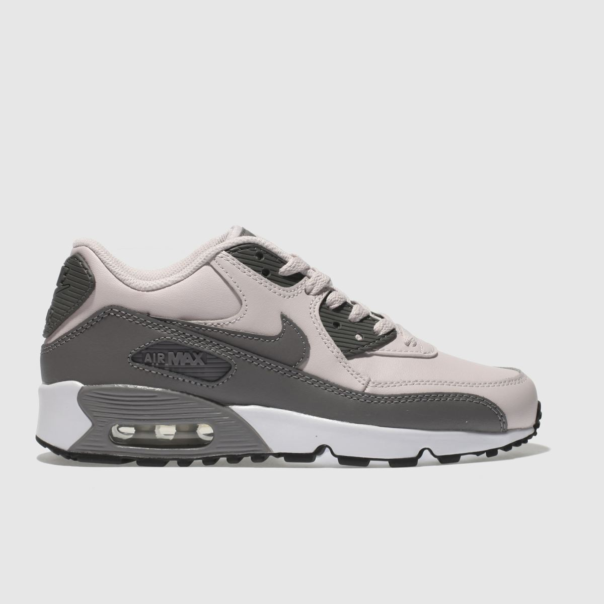 Nike Pale Pink Air Max 90 Yth Girls Youth Trainers