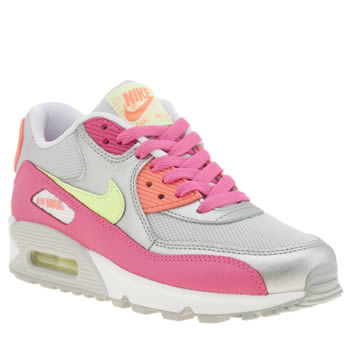 Nike Multi Air Max 90 Mesh Girls Youth