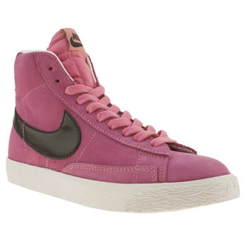 Nike Pink Blazer Mid Vintage Girls Youth